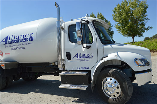 Residential Propane Delivery Service