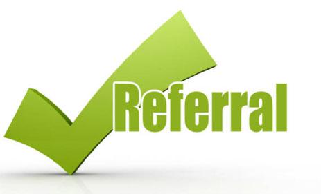 Propane delivery referral program